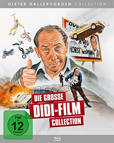 Die große Didi-Film Collection [Blu-ray]