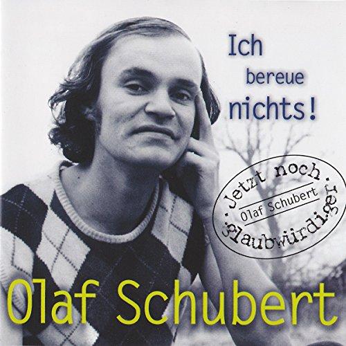 Ich bereue nichts!                   Autor:                                                                                                                                 Olaf Schubert                               Sprecher:                                                                                                                                 Olaf Schubert                      Spieldauer: 1 Std. und 12 Min.     2 Bewertungen     Gesamt 2,0
