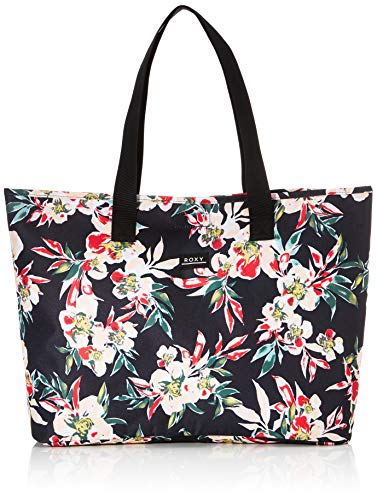 Roxy Women's Wildflower Extra Large Tote Bag, Anthracite Wonder Garden S, Dimensions: 16'...