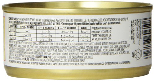 Chicken Soup for the Soul Adult Cat Food - Chicken & Turkey Pate,
