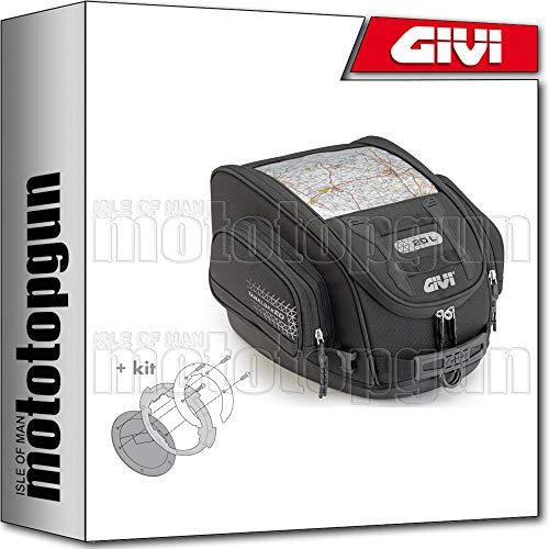 GIVI TANKRUCKSACK TANKLOCKED UT809 + BEFESTIGUNGSRING KOMPATIBEL MIT BMW F 650 GS 2010 10