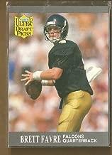 1991 Fleer Ultra Football Brett Favre Rookie Card # 283 Falcons Packers