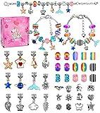 regalo del giocattolo della ragazza di 4-12 anni, kit per braccialetti ragazza kit di creazione di gioielli per ragazze kit kit regalo bambina 8-12 anni arti e mestieri regali per bambini età 6-12