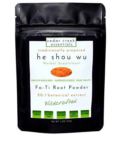 Fo-ti Root Extract Powder He Shou Wu 20:1 Cured Concentrate