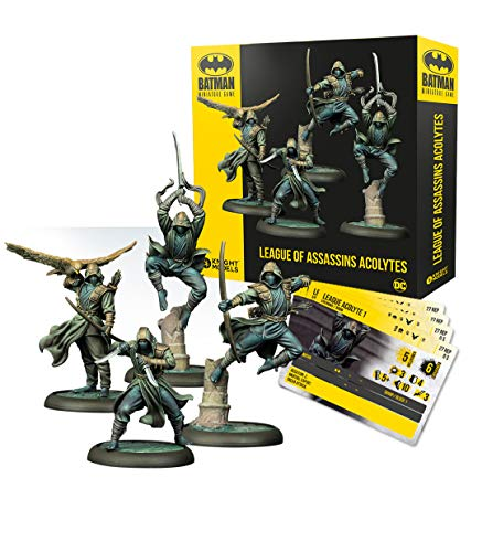 Knight Models Juego de Mesa - Batman Miniature Game: League of Assassins...