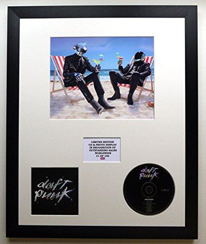 DAFT PUNK/Foto y cd edición limitada del álbum/DISCOVERY