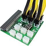 Shubiao PCI Express Grafikkarten-Netzkonverter-Adapterkabel, 6-polig auf 8-polig (6+2), 22 cm...