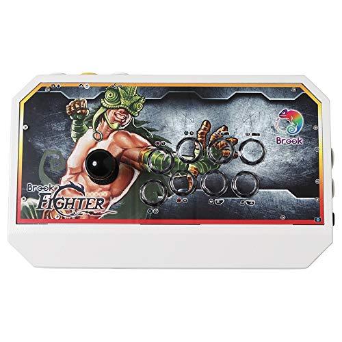 [静音仕様] ブルック x 公館快打大揺倶楽部 ファイティング カメレオン アーケード コントローラー - Brook x VETASH Fighting Chameleon (PC / PS4 / PS3 / Xbox 360 / Xbox One/Wii U/Switch/NEOGEO mini/PS Classic) ホワイト