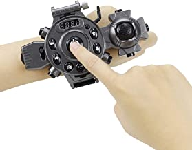 Mini UAV Wrist Watch Design 2.4G 4CH WiFi 30W Camera RC Pocket Drone Quadcopter for Aerial Photo Foldable Altitude Hold G-Sensor Control Headless Mode One Key Return High Medium Low Speed Toy