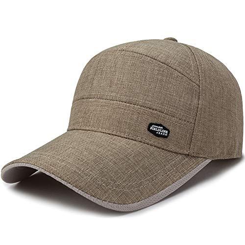Sombrero para el Sol protección Solar para el Sol Sombrero para el Sol de Color Caqui Ajustable