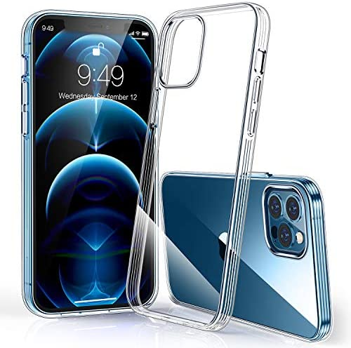 Humixx Compatible with iPhone 12 Pro Max Case Crystal Clear Military Grade Drop Tested 12X Anti product image