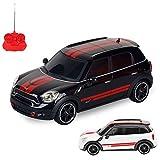 HSP Himoto Mini Cooper JCW Edition RC ferngesteuertes Lizenz-Modell Auto, Fahrzeug Modellbau, 1:24 Ready-to-Drive, Inkl. Fernsteuerung -