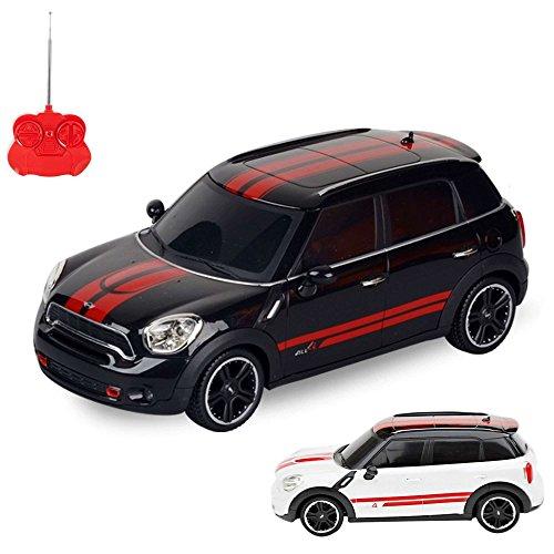 HSP Himoto Mini Cooper JCW Edition RC ferngesteuertes Lizenz-Modell Auto, Fahrzeug Modellbau, 1:24 Ready-to-Drive, Inkl. Fernsteuerung