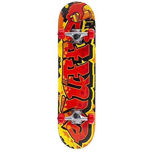 Enuff Skateboards ENU2510, Skateboard Unisex – Adulto, Rosso, Taglia Unica