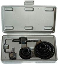Hexoutils HX59232 gatzaag, staal, variabel, 11-delige set