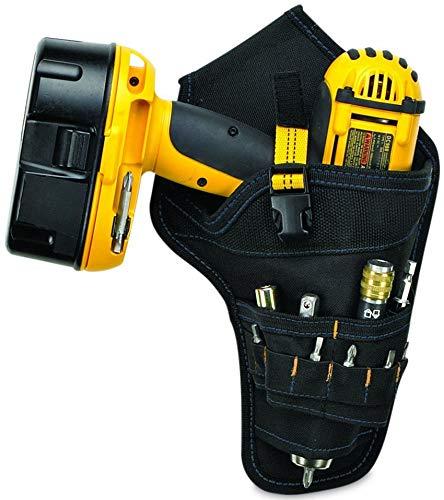 BAIGIO Werkzeughalter für Akkuschrauber Werkzeuggürtel Klein Werkzeug-Gürteltasche Werkzeugtasche für Werkzeug und Zubehör (Gelb)