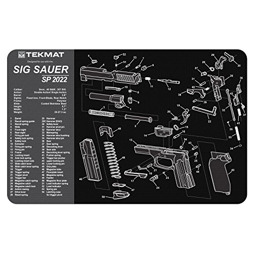 TekMat Cleaning Mat for use with Sig Sauer SP2022
