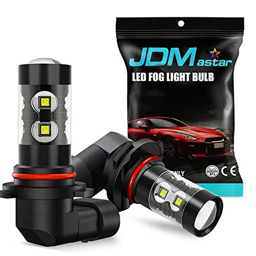 JDM ASTAR Bright White Max 50W High Power H10 9145 LED Fog Light...