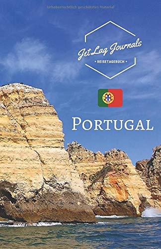 JetLagJournals • Reisetagebuch Portugal: Erinnerungsbuch zum Ausfüllen   Reisetagebuch zum Selberschreiben für den Portugal Urlaub