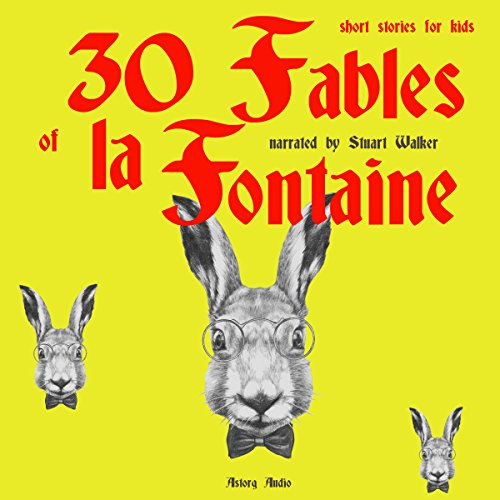 30 Fables of La Fontaine audiobook cover art