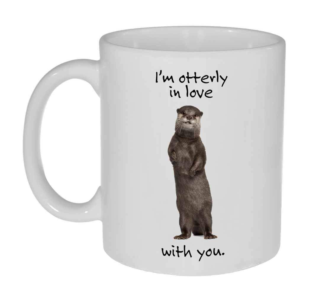 Ranking integrated 1st place I am Popular brand in the world Otterly in Love With or Mug Coffee Funny Tea You