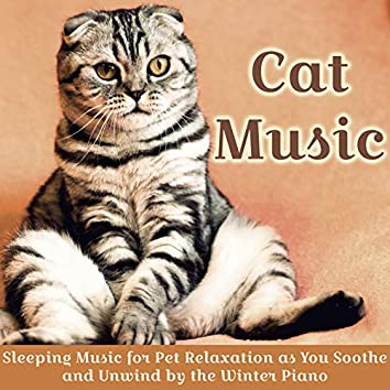 Cat Music : Sleeping Music for Pet Relaxation as You Soothe and Unwind by the Winter Piano