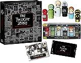 Robot Simon Twilight Zone Mystic Seer Devil Mini Wooden Figures Gremlin, Kanamit, Talky Tina + Black & White Binder & Trading Cards Pack 3 Items