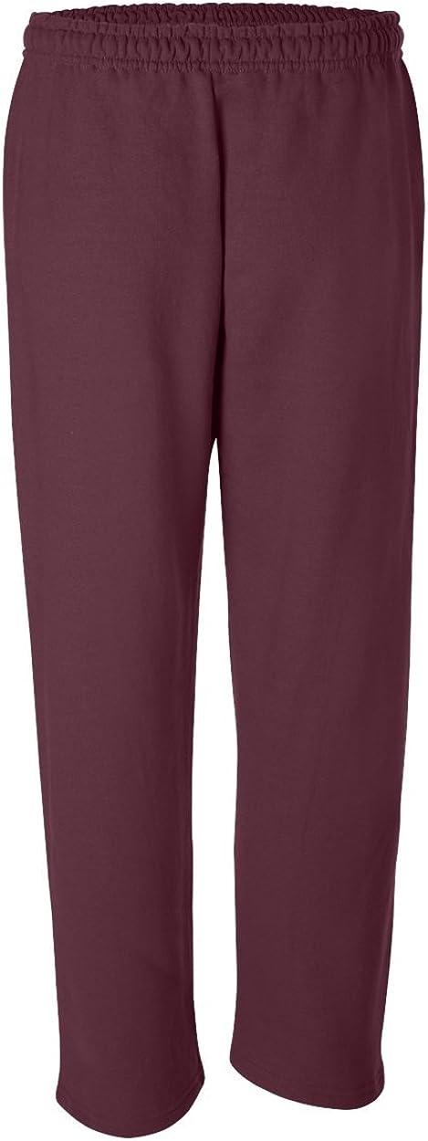 Gildan Pantalones deportivos de mezcla seca para hombre