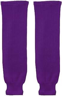 "Trenway Pro Style Rib-Knit Ice Hockey Hose Socks (Pair) Youth Child Size, 20-22"" Long"