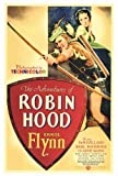 The Adventures of Robin Hood Poster (27 x 40 Zoll - 69 cm x