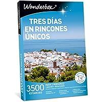 WONDERBOX Caja Regalo - Tres DÍAS EN RINCONES ÚNICOS - 3.500 estancias en España y Europa