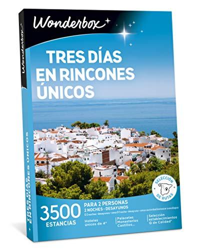 WONDERBOX Caja Regalo - Tres DÍAS EN RINCONES ÚNICOS - 3.