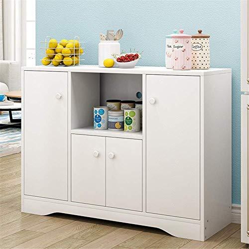 N/Z Haushaltsgeräte Sideboard Holz Sideboard Buffet Schrank Konsolentisch Küche Esszimmer Aufbewahrung Bar Schrank...
