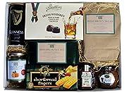 Irische Spezialitäten im Geschenkkarton 8 verschiedene irische Lebensmittel Spezialitäten Hochglanz Karton mit Deckel Zum Frühstück, zum Brunch oder zur Tea Time! Verschenken Sie Irisches Lebensgefühl.