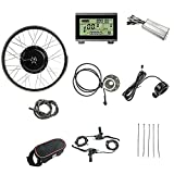 Schuck 48V1000W Electric Bicycle Conversion Kit 20' 24' 26' 27.5' 28' 29' 700C Front Wheel E-Bike with LCD3 Display (28 inch)