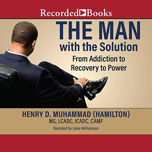 The Man with the Solution audiobook cover art