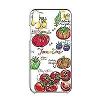 ZenFone 5 ZE620KL 用 すまほケース ハードケース [オーガニック・トマト Tomato] イラスト ベジタブル ASUS エイスース ゼンフォン ファイブSIMフリー すまほカバー けいたいケース けーたいカバー [FFANY] garden_00x_h149@01
