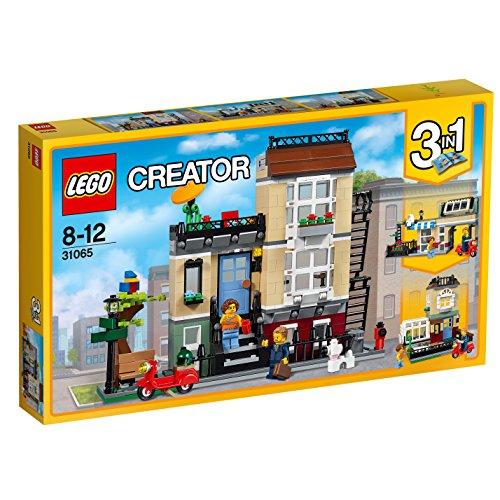 LEGO Creator 31065 - Stadthaus an der Parkstraße, Bausteinspielzeug