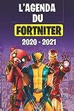 L'Agenda du Fortniter 2020-2021: agenda scolaire 2020 2021 gamer journalier primaire collège lycée pour planifier une année scolaire réussie organisateur agenda Etudiant | Emploi du temps.