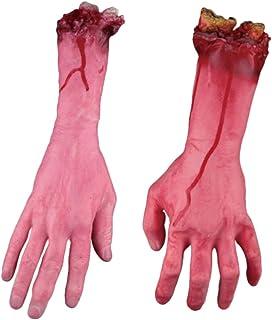 PovKeever 血の手 幽霊の家の装飾恐ろしい 不気味 血のり 恐怖 ハンド ブレークフットプロップ お化け お化け屋敷 装飾 ハロウィン ホラー