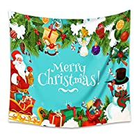 クリスマスタペストリーサイケデリックタペストリー背景布のベッドサイドの布タペストストリーテーブルクロス、リビングルームの寝室のドアの装飾に適しています,Color8,200x150cm