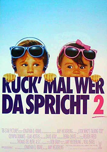 Kuck' mal, wer da spricht 2 - John Travolta - Filmposter A3 29x42cm gerollt