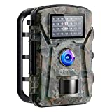 APEMAN Wildlife Camera 12MP 1080P FHD Trap with Infrared Motion Activated..