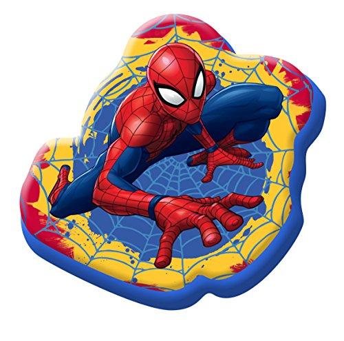 Kids Kissen mit Motiv Spiderman, Samt, Pink, 35.0x 28.0x 5.0cm, 12Stück