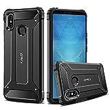 JundD Kompatibel für Xiaomi Mi Max 3 Hülle, [ArmorBox] [Doppelschicht] [Heavy-Duty-Schutz] Hybrid Stoßfest Schutzhülle für Xiaomi Mi Max 3 - Schwarz