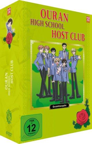 Ouran High School Host Club - Gesamtausgabe, 6 DVDs