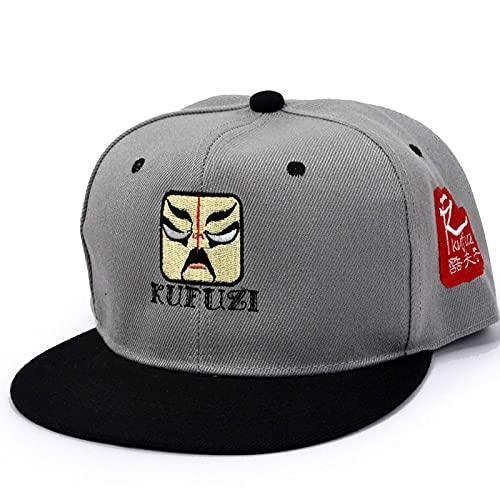 ODNJEMSD Sombrero Bordado Mascarilla Patrón Hip Hop Cap Bordado Personalizado