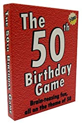The little card game especially for 50th birthdays !! This unique special edition trivia game features over 150 questions on the big theme of the day: 50! This is the new and improved edition of the game. Photos and question examples shown in images ...