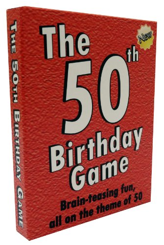 50th Birthday The Game - amusing gift idea or fun party ice breaker, especially for people turning fifty.
