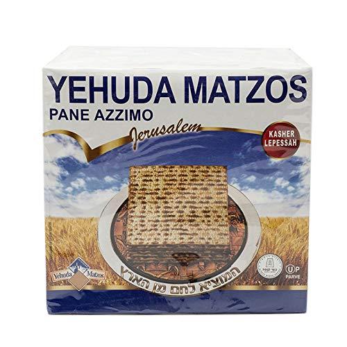 Yehuda Matzot Koscheres ungesäuertes Brot 1 kg ohne Hefe